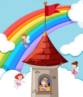 Принцесса в замке
