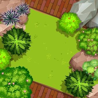 空中庭園の眺め