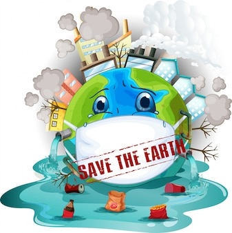 地球のアイコンを保存