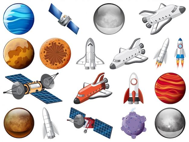Набор космического элемента