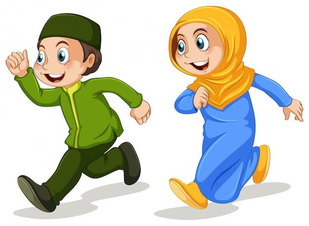 イスラム教徒の友達