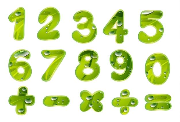 数字とサイン