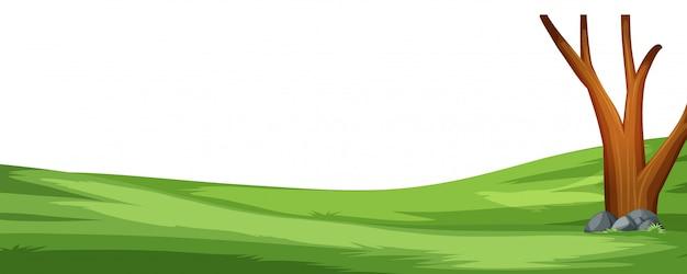 単純な自然シーンの背景
