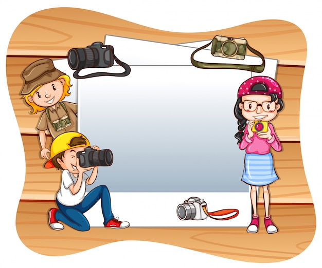 写真撮影フレーム