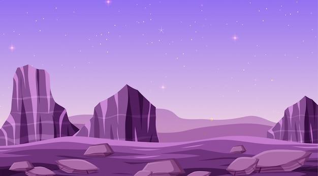 孤立した空間の背景