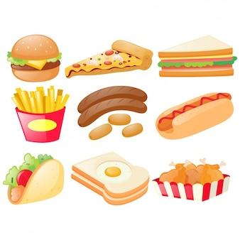 Коллекция быстрого питания элементы