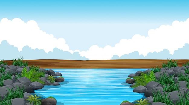 空の自然の風景