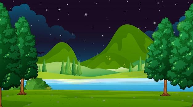 Пустые пейзажи природы