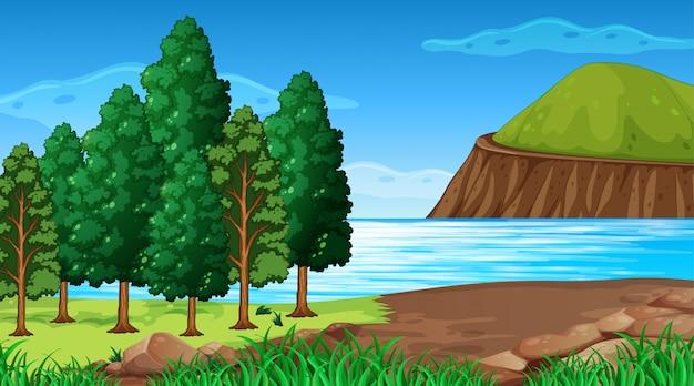 空の背景自然の風景