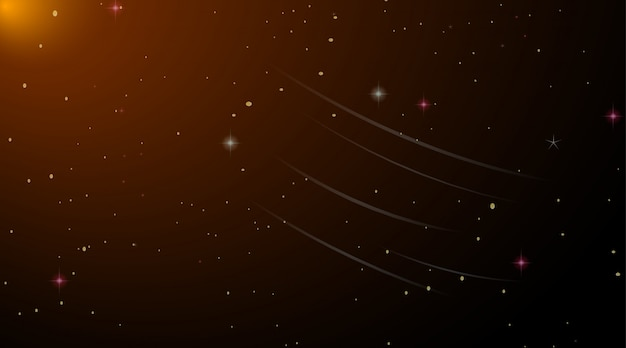 暗い宇宙銀河背景