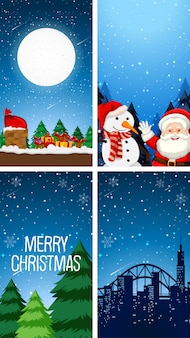 Рождественские обои темы