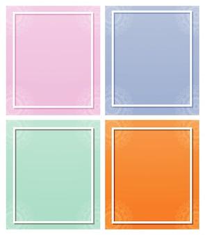 Фоновые шаблоны с узорами мандалы