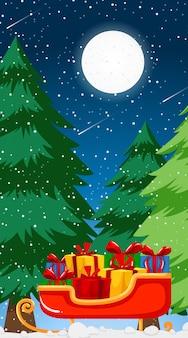 Фоновые шаблоны с рождественской темой