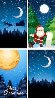 Иллюстрация рождественской темы