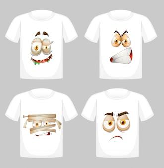 Дизайн футболки с рисунком спереди