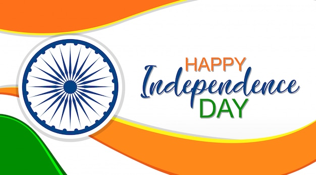 Дизайн фона для государственного праздника в индии