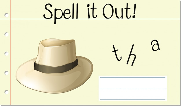 帽子を綴る