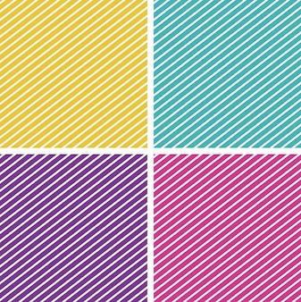 Шаблон фона с полосатыми узорами