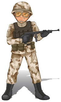 Храбрый солдат