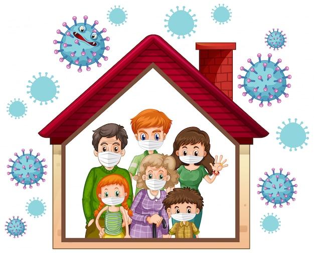 Оставайтесь дома, чтобы предотвратить коронавирус