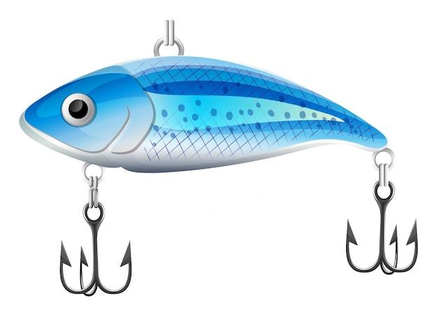 Ловит рыбу