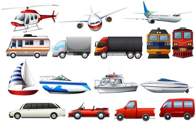 Различные виды перевозок