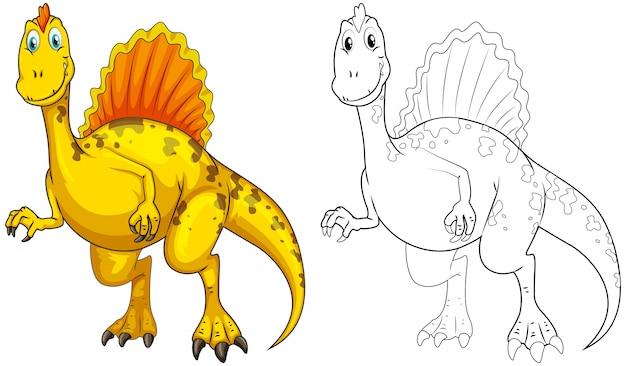 Схема животных для динозавров