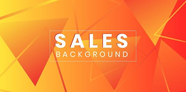 Треугольник в форме продажи фон абстрактный макет
