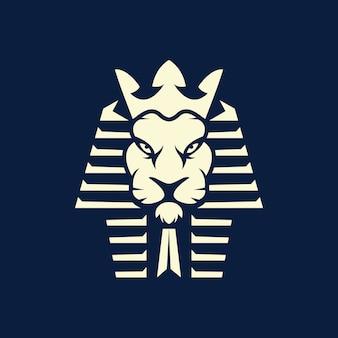 Логотип фараона льва киберспорта
