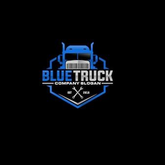 自動車トラック会社のロゴデザイン