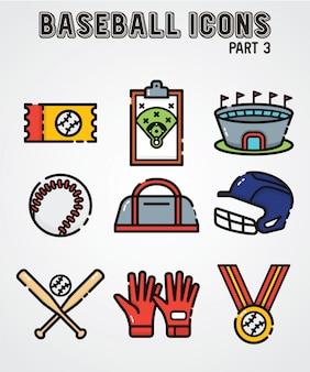 Значок бейсбол