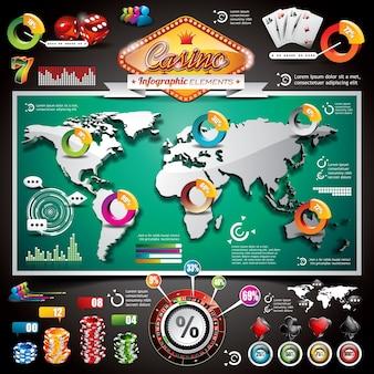 Казино инфографика