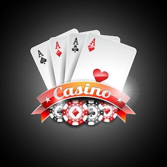 Дизайн казино фон