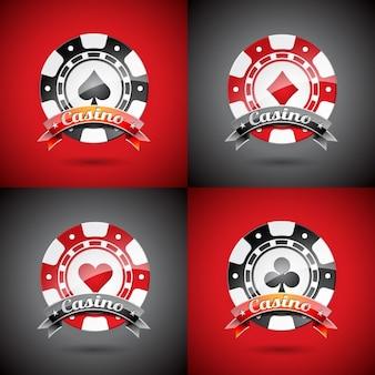 Шаблон казино логотипы