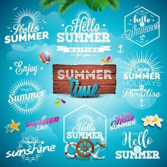 夏のデザインコレクション