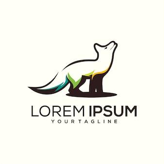 Дизайн логотипа волк