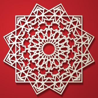 イスラムのパターン。