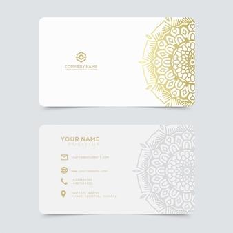 Роскошные и элегантные золотые визитки