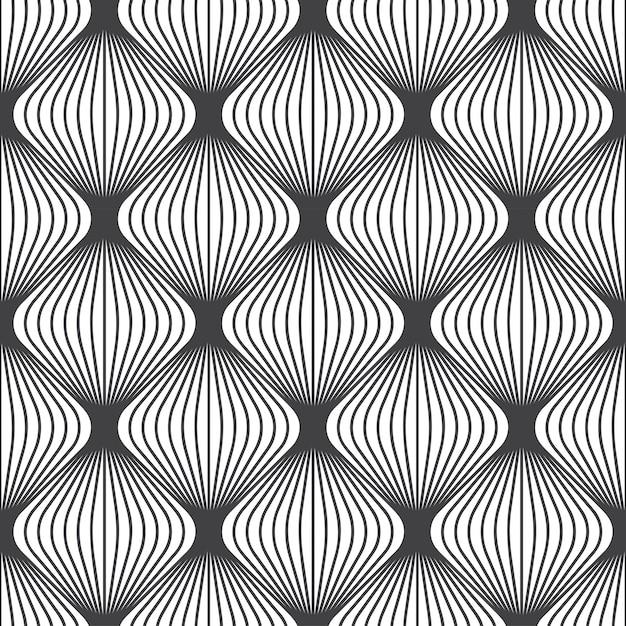 抽象的なパターンデザイン