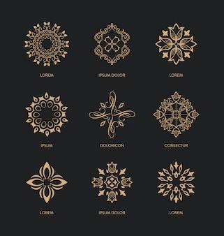 装飾的な装飾品コレクション