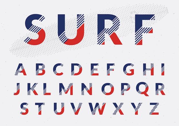 Цветное алфавит дизайн