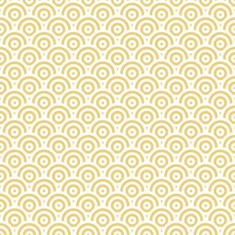 抽象的な東洋のシームレスパターン