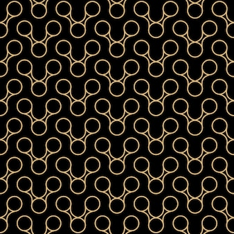 アールデコシームレスパターンデザイン