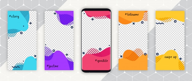 Шаблон обложки для социальных сетей