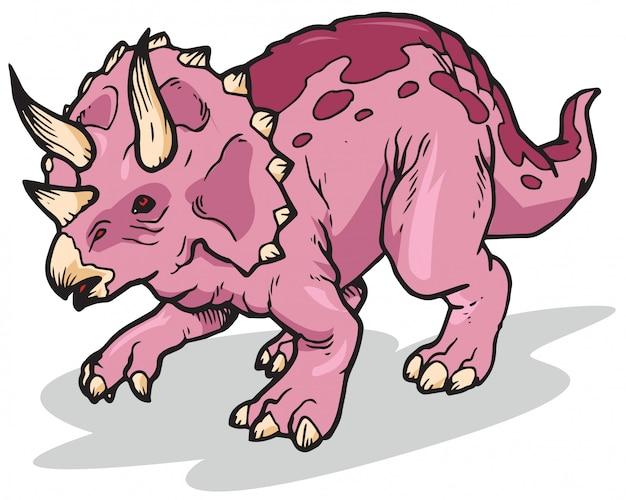 Трицератопс динозавр