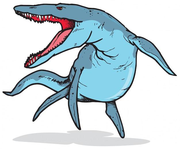 Кронозавр динозавр