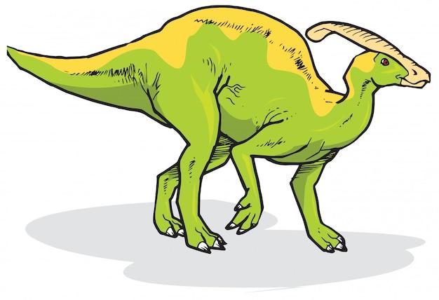 パラサウロロプス恐竜