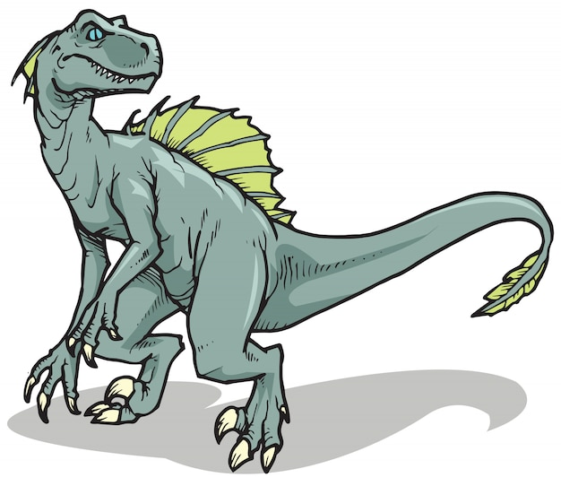 Велоцираптор динозавр