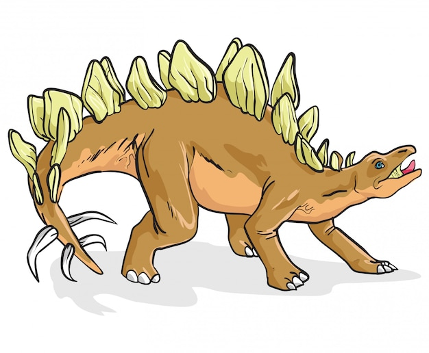 Стегозавр динозавр