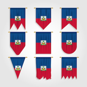 Флаг гаити в различных формах